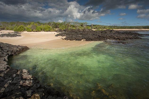 Restos de lava en el Pacífico, cerca de Cerro Dragón, Galápagos, Ecuador © Philip Lee Harvey / Lonely Planet