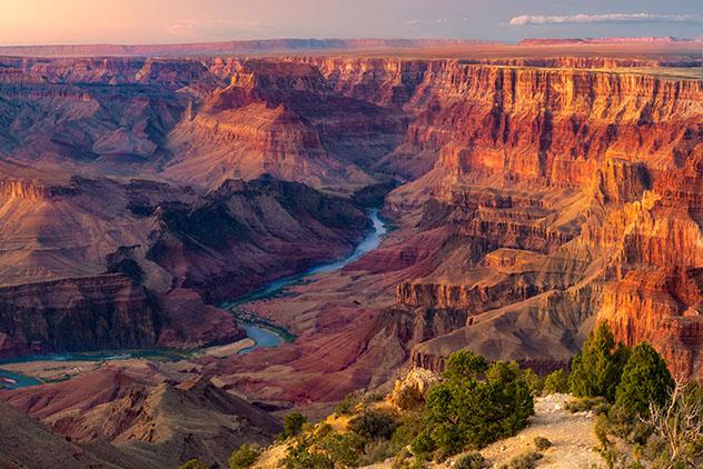 Viaje virtual al Gran Cañón, Arizona, EE UU