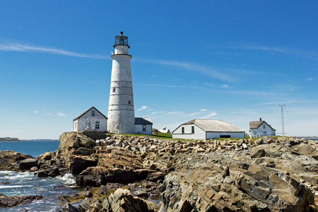 Faro de Boston, EE UU © ShoreTie / Shutterstock