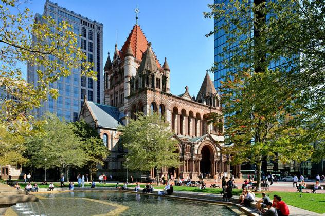 Trinity Church, Boston, EE UU © Jorge Salcedo / Shutterstock