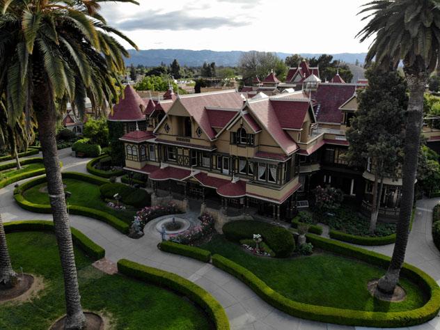 La Casa del Misterio de Winchester, California, EE UU © Lee Boxleitner / Shutterstock