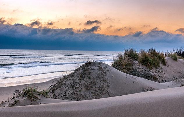 Los Outer Banks del estado de Carolina del Norte, EE UU