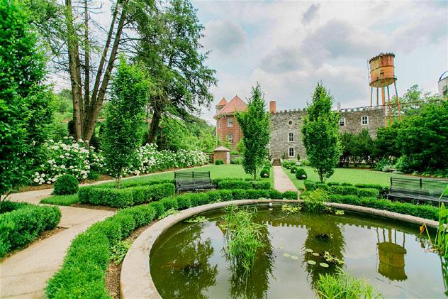 El cuidadísimo jardín de Castle & Key, Kentucky, costa este, EE UU © Malicotes Photography / VisitLex