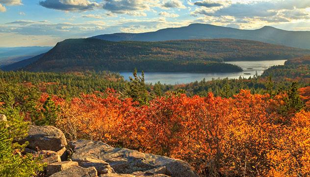 El paisaje de las Catskills ha inspirado a muchos artistas durante siglos, Nueva York, EE UU © lightphoto / Getty Images