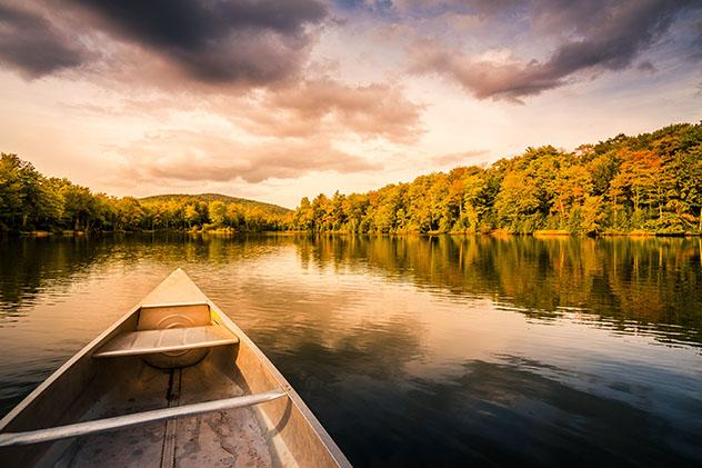 Río Hudson, Catskills, Nueva York, costa este, EE UU © mervas / Shutterstock
