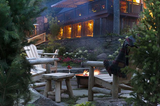 La Deer Mountain Inn es un lugar acogedor, Tannersville, Catskills, Nueva York, costa este, EE UU © www.deermountaininn.com