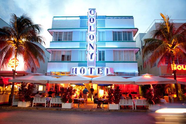 'Art déco', South Beach, Miami, Florida, EE UU © Kris Davidson / Lonely Planet