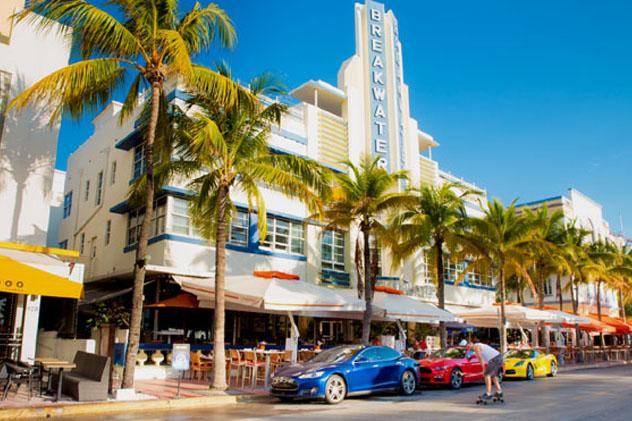 South Beach, Miami, Florida, EE UU © littleny / Shutterstock