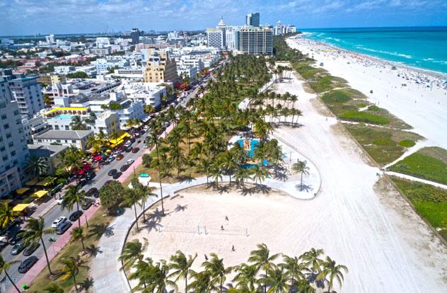 South Beach, Miami, Florida, EE UU © SEASTOCK / Shutterstock