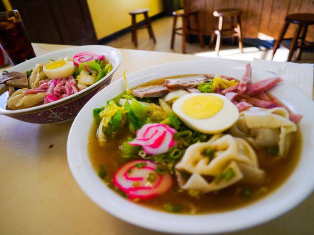 'Saimin', gastronomía de Hawái, EE UU © HappySari / Shutterstock