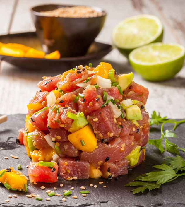Gastronomía de Hawái, EE UU © Hans Geel / Shutterstock