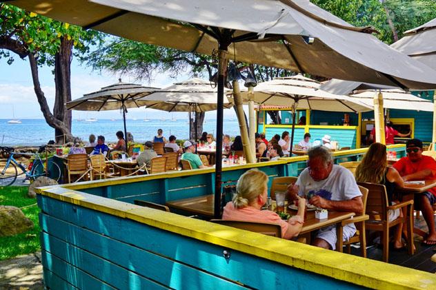 Lahaiana, gastronomía de Hawái, EE UU © EQRoy / Shutterstock