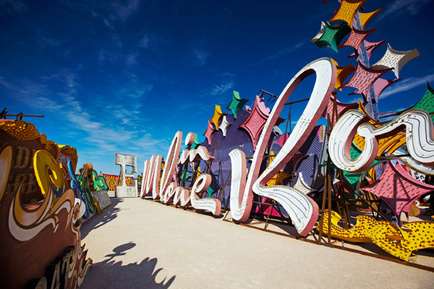 Neon Museum, Las Vegas, EE UU © Mark Read / Lonely Planet