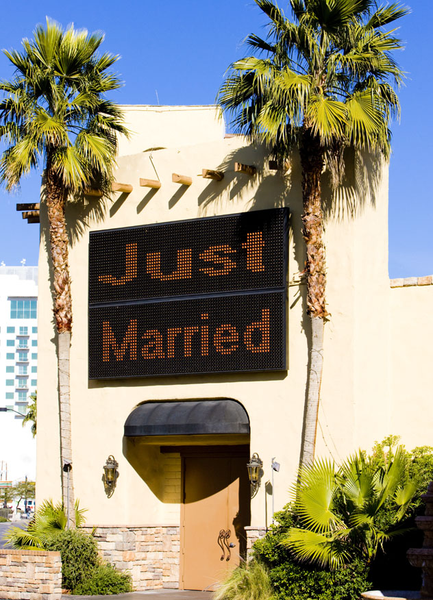 'Just married', Las Vegas, EE UU © PHB.cz ( Richard Semik) / Shutterstock