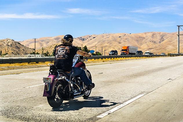 Harley Davidson en Los Ángeles, EEUU: película Easy Rider