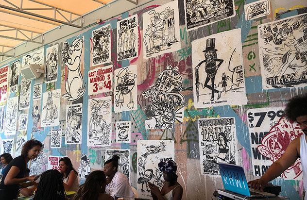 Miami arte urbano: Wynwook Kitchen & Bar