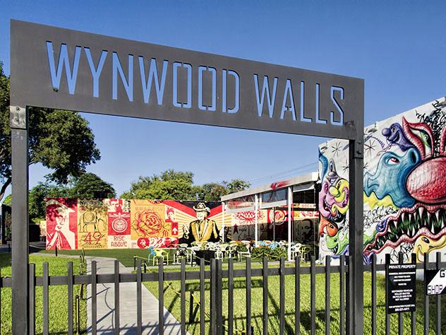 Miami arte urbano: entrada a Wynwood Walls