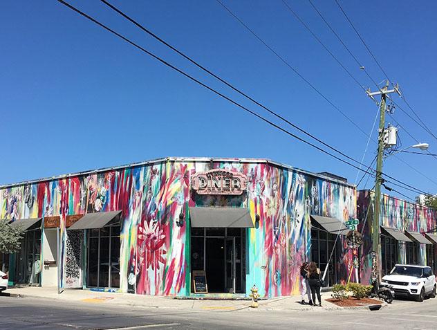 Miami arte urbano: grafiti en Wynwood