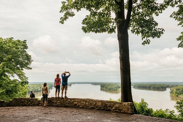 Río Misisipí, estado de Misisipí, EE UU