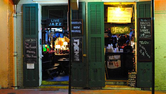 Fritzel's European Jazz Pub, Barrio Francés, Nueva Orleans, EE UU © www.fritzelsjazz.net