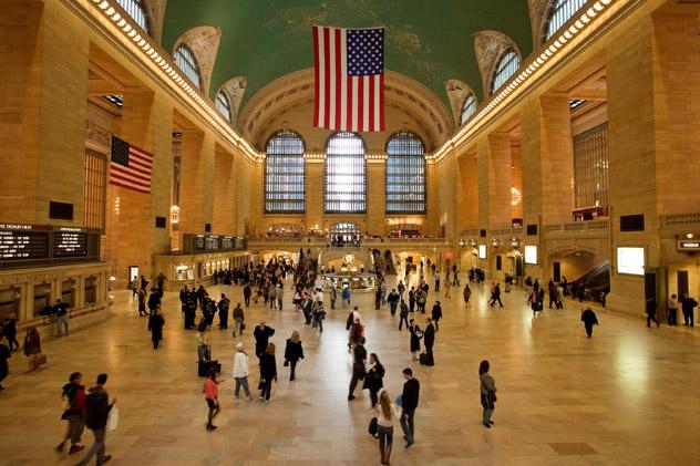 Grand Central Station, Nueva York, Estados Unidos © Luboslav Tiles / Shutterstock