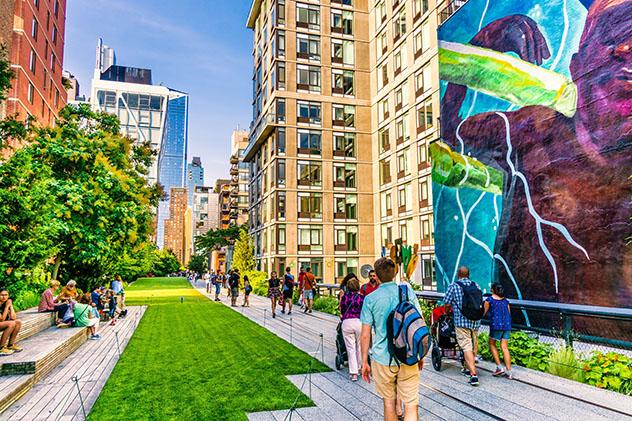 High Line, Nueva York gratis