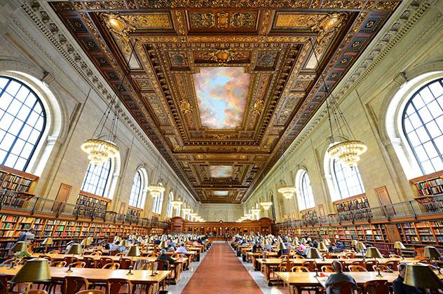 Biblioteca Pública de Nueva York, gratis