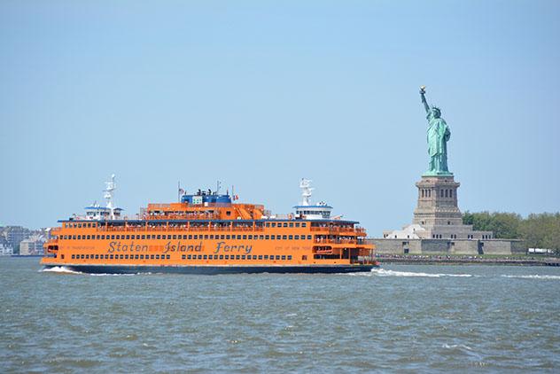 Ferri a Staten Island, Nueva York gratis