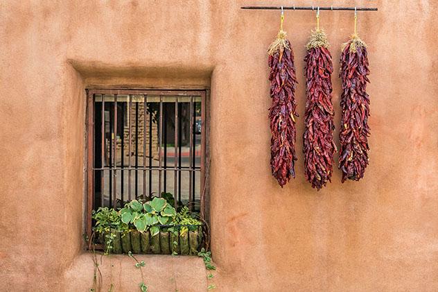 Chilis en el estado de Nuevo México, EE UU