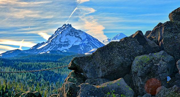 Montañas Azules en el estado de Oregón, EE UU