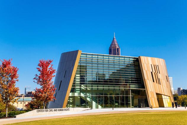 El Center for Civil and Human Rights de Atlanta, sur de EE UU © klausbalzano / Getty Images