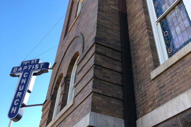 La 16th St Baptist Church, en Birmingham, es una parada importante de la Civil Rights Trail de la ciudad, sur de EE UU © Chelsey Kent / Shutterstock