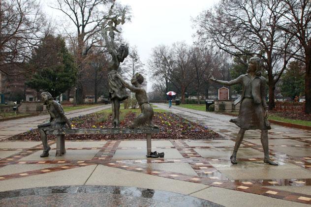 'The four spirits', memorial en Kelly Ingram Park, Birmingham, sur de EE UU © chrisjtse / Flickr
