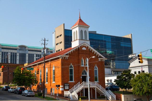 King Memorial Baptist church, en Dexter Ave, Montgomery, sur de EE UU © PhotoStock-Israel / Getty Images