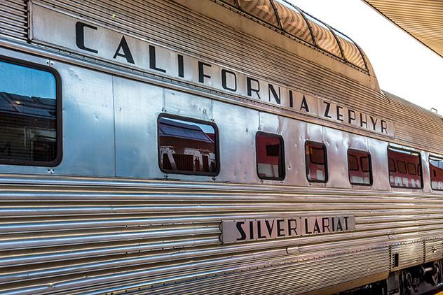 Tren nocturno, California Zephyr, EE UU. Viaje sostenible Lonely Planet