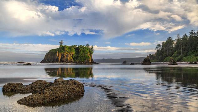 Olimpic National Park, Península Olímpica, Washington, costa del Pacífico, EE UU © Diane Fetzner / Shutterstock
