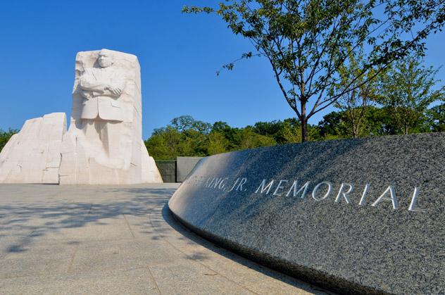 Memorial Martin Luther King Jr, Washington DC, EE UU © Orhan Cam / Shutterstock