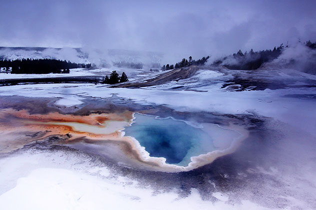 Viaje virtual al Parque Nacional Yellowstone, Wyoming, EE UU