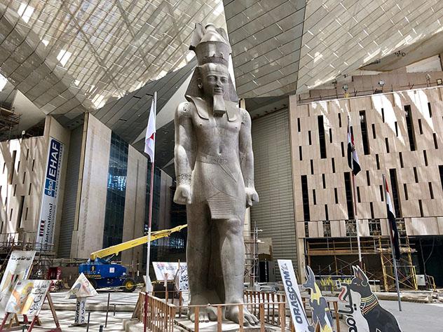 Gran Museo Egipcio, Gizeh, Egipto