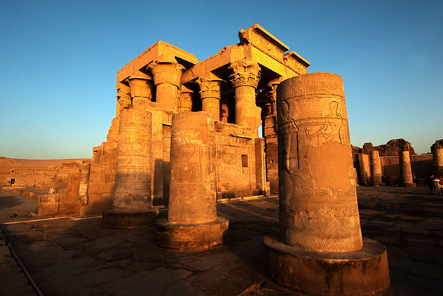 Por el recinto de Kom Ombo campaban a sus anchas los cocodrilos del Nilo, Egipto © Sachin Vijayan Photography / Getty Images