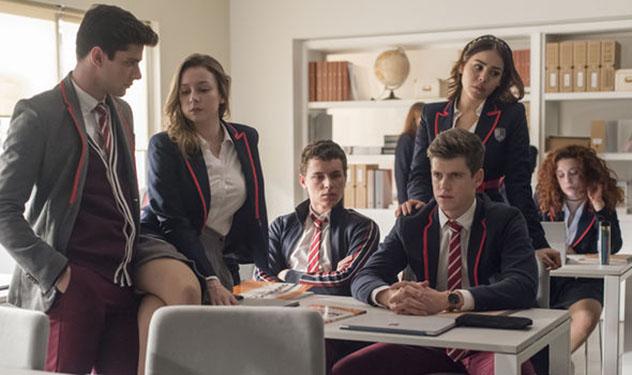 La española Élite es una de las series más populares de Netflix.Imagen de Netflix