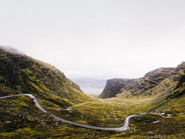 Carretera de Europa: Bealach na Bà, Escocia
