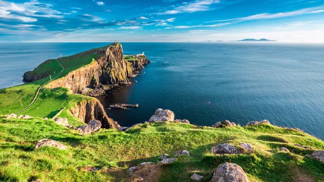 Isla de Skye, Highlands, Escocia © Shaiith / Shutterstock