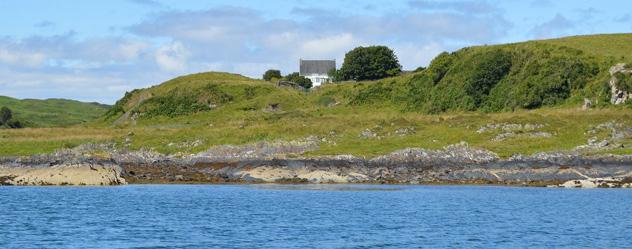 Granja de la isla de Torsa, Islas Hébridas Interioes, Escocia © www.torsa-island.co.uk