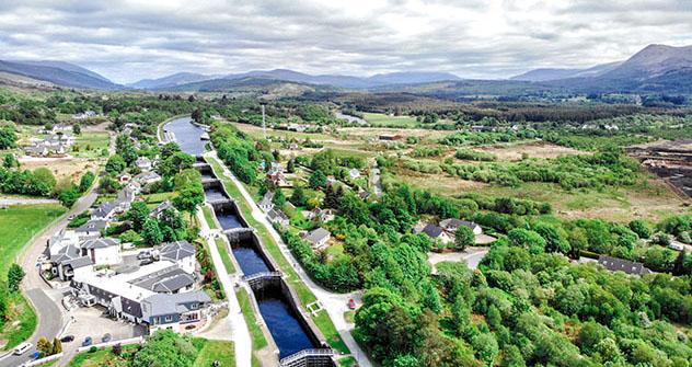 Tierras Altas de Escocia (Highlands): Canal de Caledonia y Neptune's Staircase