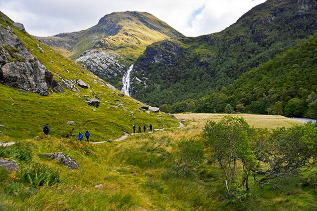 Tierras Altas de Escocia (Highlands): paso por el Glen Davis