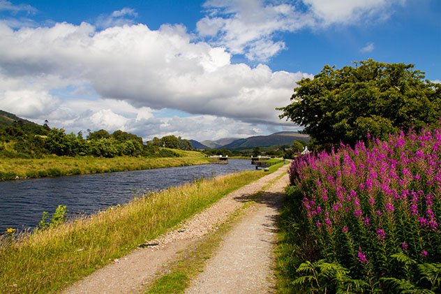 Tierras Altas de Escocia (Highlands): The Great Glen Way y el Canal de Caledonia