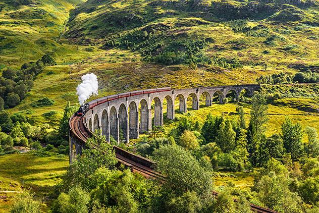 Tierras Altas de Escocia (Highlands): Jacobite Steam Train