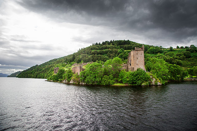 Tierras Altas de Escocia (Highlands): Castillo de Urquhart y el Lago Ness