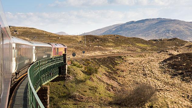 Tren nocturno, Caledonian Sleeper, Escocia. Viaje sostenible Lonely Planet